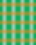 Green, White and Orange Plaid Background - Irish Colors Royalty Free Stock Photo