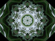 Green and White pinwheel Royalty Free Stock Photos