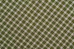 Green and White Plaid. High  resolution image of  green and white plaid Royalty Free Stock Photos