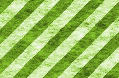 Green and White Seasonal Stripes Royalty Free Stock Photo