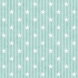 Green and White Stars and Stripes Fabric Background Royalty Free Stock Images