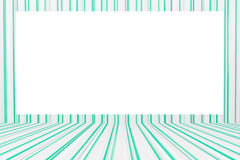 Green and white tablecloth pattern background Stock Image