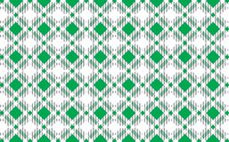 Green and white tartan plaid pattern.Texture for : plaid, tablecloths, clothes, shirts, dresses, paper, bedding, blankets, quilts. And other textile products stock illustration