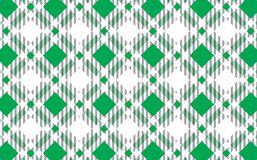 Green and white tartan plaid pattern.Texture for : plaid, tablecloths, clothes, shirts, dresses, paper, bedding, blankets, quilts. And other textile products royalty free illustration