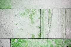 Green and white tile texture background wallpaper. Interseting texture of the tile, white and green background Royalty Free Stock Images