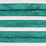 Green and white wooden wall texture Royalty Free Stock Image