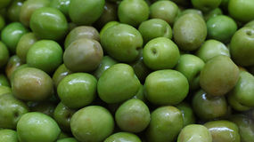Free Green Whole Olives Close Up Background Royalty Free Stock Photography - 82369137