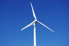 Green wind energy. Wind power plant generating green energy Stock Photography