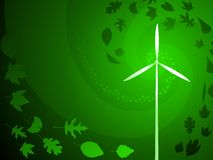 Green wind power Stock Photos