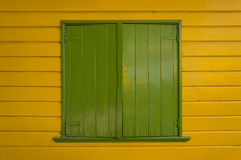 Green window Royalty Free Stock Images