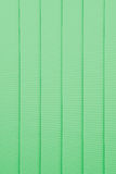 Green window blind for background Royalty Free Stock Photos