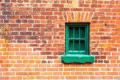 Green Window Royalty Free Stock Photography