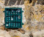 Green window. royalty free stock image