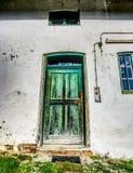 Green, Window, Door, Wall Stock Photos