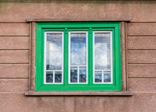 Green window Stock Photos