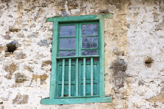 A green window Stock Photography