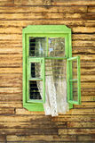 Green window Royalty Free Stock Photos