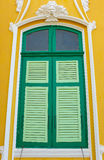 The green window Royalty Free Stock Photography