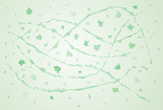 Green windy abstraction Royalty Free Stock Photography
