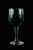 Green wine Stock Image