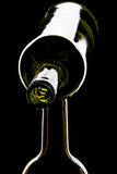 Green wine bottles Stock Photo
