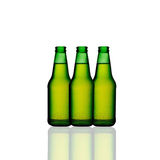 Green wine bottles Royalty Free Stock Photography