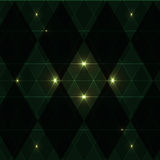 Green wink vintage pattern background Royalty Free Stock Photography