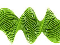 Green wire Royalty Free Stock Photo