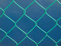 Green wire fence Stock Photography