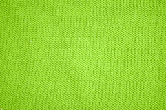 Green wollen texture Royalty Free Stock Photos