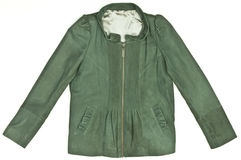 Green Women's jacket Stock Images