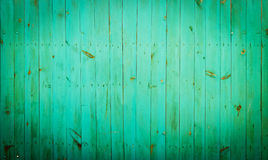 Green wood background. Royalty Free Stock Photo