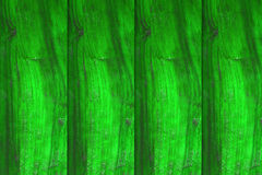 Green wood background, empty wall Royalty Free Stock Image