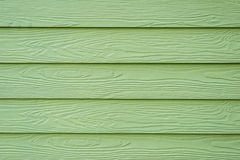Green wood background Royalty Free Stock Photos