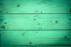 Green wood backgrounds,vintage image Stock Image