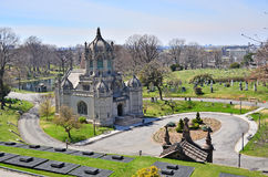 Green-Wood cemetery - chapel, Brooklyn, NY Royalty Free Stock Photos