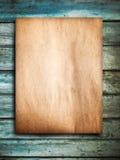 Green wood door Royalty Free Stock Photography