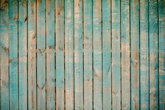 Green wood. Texture Background. Vintage and Old. Close-up picture of wood wall. The wall is old and with peeling paint Stock Photos