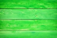 Green wood plank background. Green wood planks textured background. St Patricks Day concept Royalty Free Stock Photography