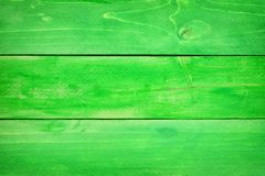 Green wood plank background. Green wood planks textured background. St Patricks Day concept Royalty Free Stock Photos