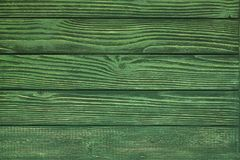 Green wood plank texture and background. Stock Photo