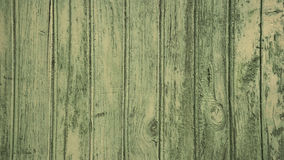Green wood planks Royalty Free Stock Photos