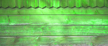 Green Wood Texture Royalty Free Stock Image