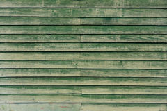 The green wood texture. Background Royalty Free Stock Images