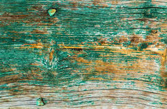 Green wood texture background. Green background old panels texture wood Royalty Free Stock Images