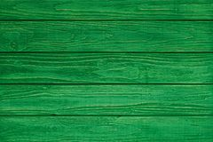 Green wood plank texture and background. Green wood texture and background. Painted wooden surface. Timber planks Royalty Free Stock Image