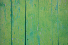 Green wood wall Stock Photos