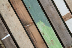 Green wooden background Royalty Free Stock Photos