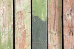 Green wooden background Royalty Free Stock Photography
