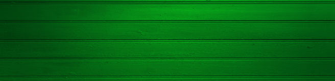 Green wooden background Stock Images